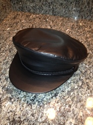 The Leather Fiddler Cap